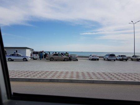 В который раз! ДТП на парковке у Солдатского пляжа