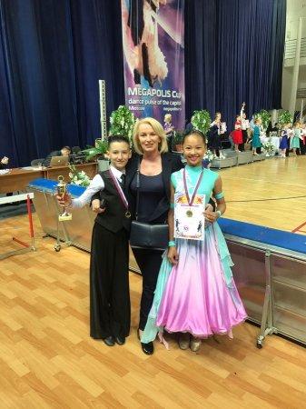 Пара из Актау завоевала пять медалей на международных соревнованиях по спортивным танцам