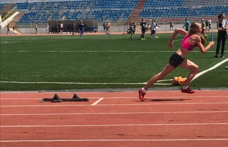 Актауские легкоатлеты завоевали 12 медалей на республиканском турнире