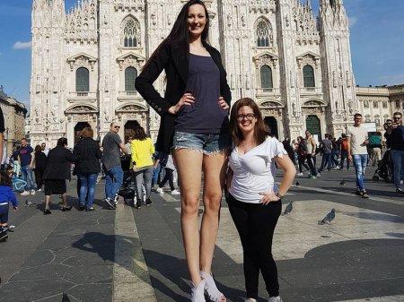 Россиянка с самыми длинными ногами подала заявку в Книгу рекордов Гиннесса