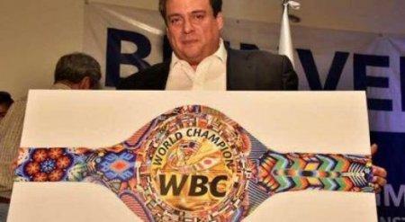 """WBC утвердил дизайн специального пояса для боя Головкин - """"Канело"""""""