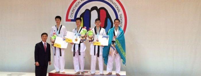 Актауский спортсмен завоевал «бронзу» на международном турнире по таэквондо