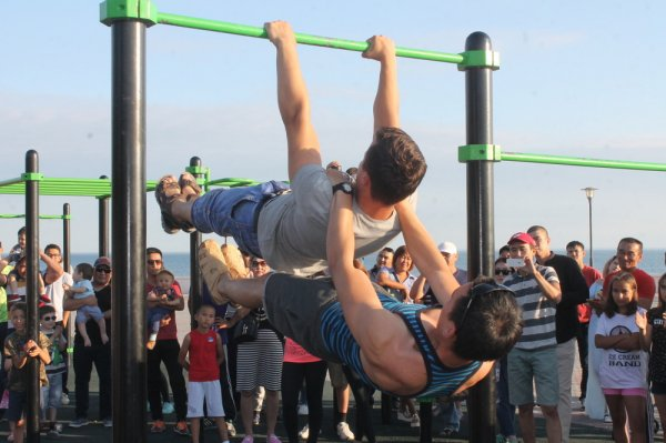 Айтым Жакупов предложил открыть в Актау спортивный зал для street workout