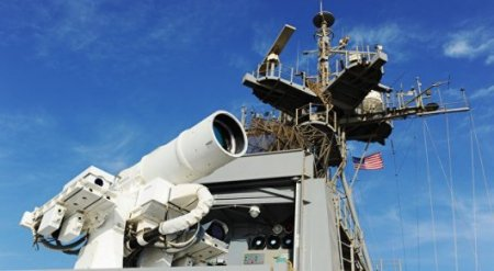 """""""Поражает цель со скоростью света"""": США испытали лазерное оружие"""