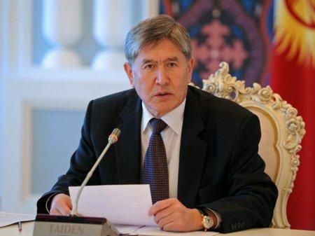 Атамбаев выступил против перехода алфавита на латиницу