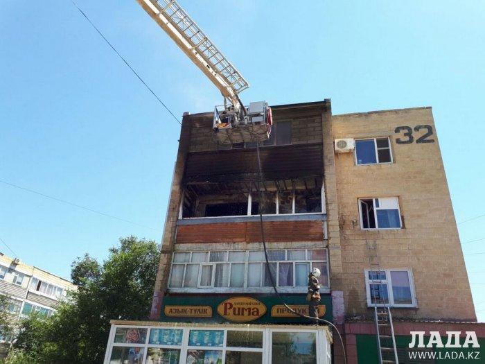 В Актау в результате двух пожаров пострадали три человека