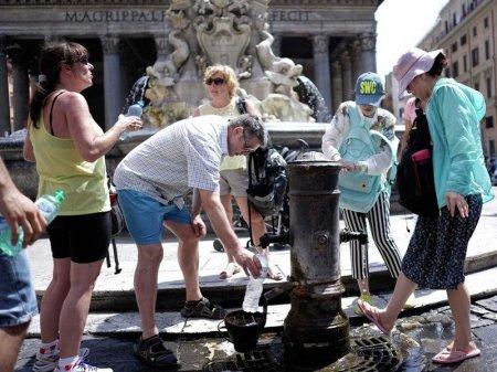 Из-за аномальной жары Рим может остаться без питьевой воды