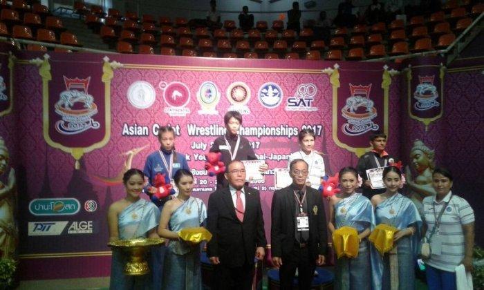 Марал Танибергенова из Актау завоевала «серебро» чемпионата Азии по вольной борьбе