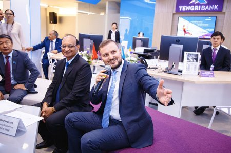 От Ганга до Каспия. В Актау состоялось открытие Tengri Bank