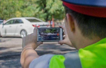Могут ли полицейские снять нарушение на смартфон?