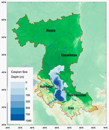 Ученые назвали сроки исчезновения казахстанской части Каспийского моря