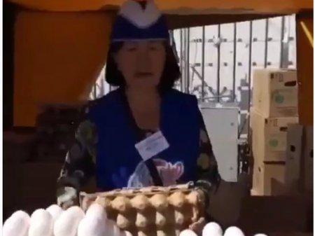 Чистейшее сопрано продавца яиц в Астане поразило пользователей Сети