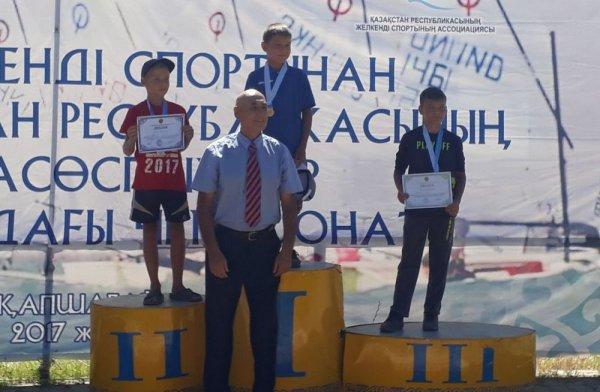 Яхтсмены из Актау стали обладателями трех медалей на чемпионате Казахстана по парусному спорту