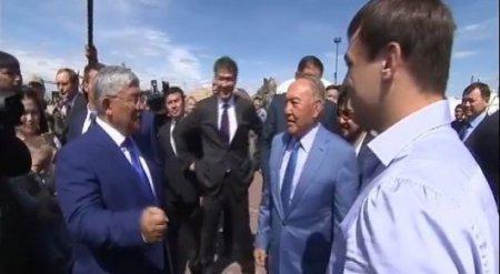 """""""Для меня он всегда останется чемпионом"""" - Назарбаев про Илью Ильина"""