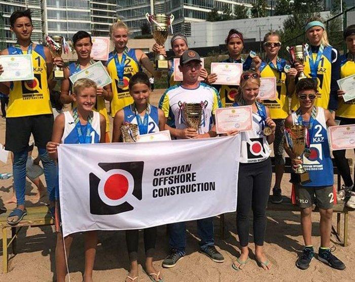 Пляжные волейболисты из Актау завоевали четыре «золота» на Кубке Казахстана