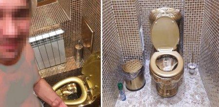 Астанчанина шокировал золотой унитаз в гостях у друга за 80 тыс. долларов
