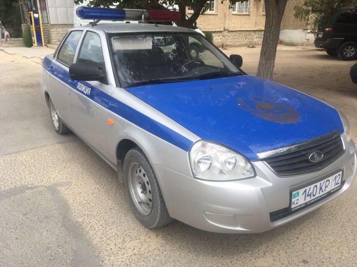 Жители 11 микрорайона Актау рассказали о задержании вооруженного мужчины