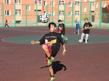 Уроки футбола введут в начальных классах школ в Казахстане
