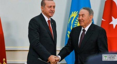 Назарбаев поговорил по телефону с Эрдоганом