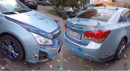 """Алматинец показал """"самую патриотичную казахстанскую машину"""""""