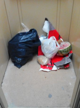 Лифт мусоровоз