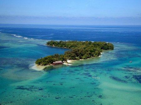 Восемь островов исчезли в Тихом океане