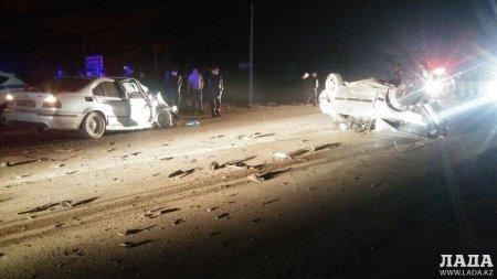Семь аварий со смертельным исходом в Мангистау в 2017 году
