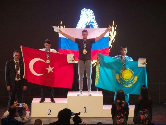Армрестлеры из Мангистау завоевали три медали на чемпионате мира