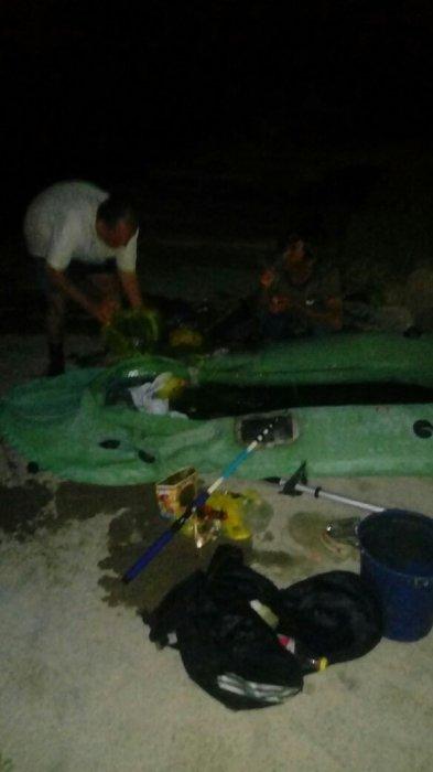 В Актау спасли двух рыбаков