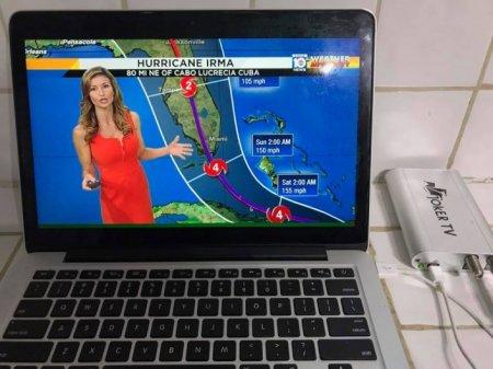 Уроженец Казахстана во время урагана обеспечил свой дом в Майами электроэнергией и телевидением