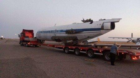 В центр Уральска привезли настоящий самолёт, в котором будет детское кафе