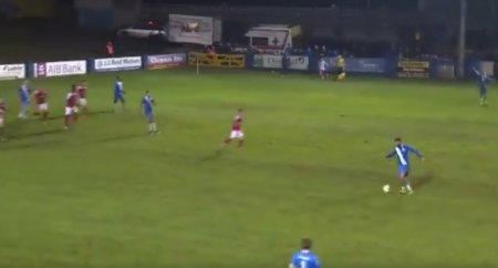 Ирландский футболист обыграл семерых соперников и забил мяч