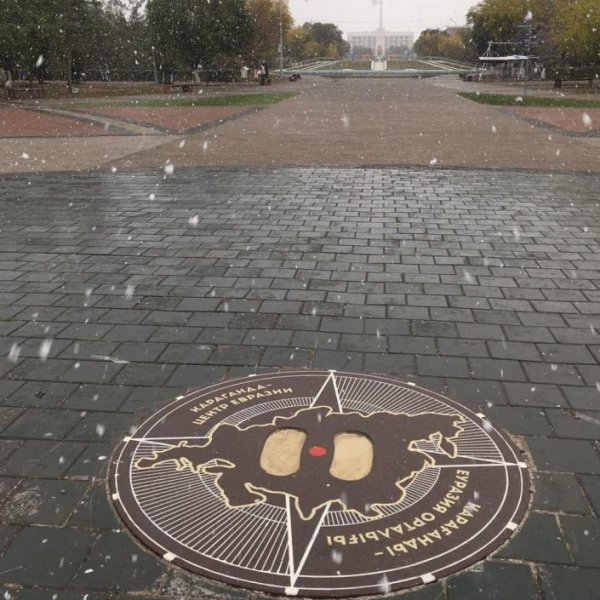 Первый снег в Казахстане: пользователи Сети делятся фото и видео