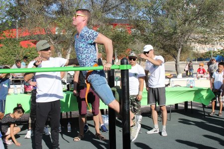 Названы победители чемпионата по street workout в Актау