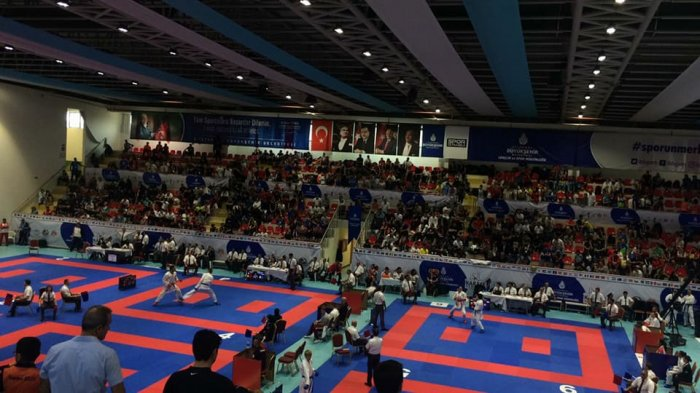 Каратистка из Актау  Сабина Захарова завоевала «серебро» на международном турнире в Стамбуле