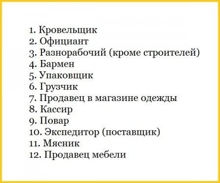 Названы 12 профессий, которые сделают вас счастливым