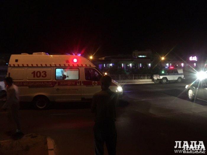 В Актау в 2017 году произошло 10 аварий с наездами на пешеходов