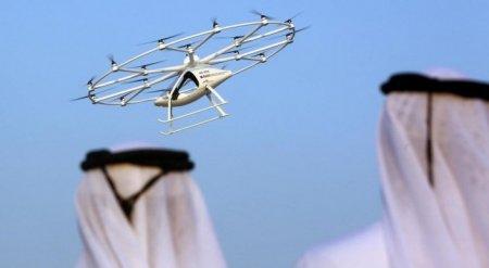Беспилотное авиатакси протестировали в Дубае