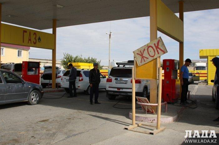 Обзор ситуации на автозаправках Актау 30 сентября