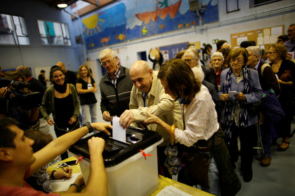 Власти Каталонии огласили результаты референдума о независимости