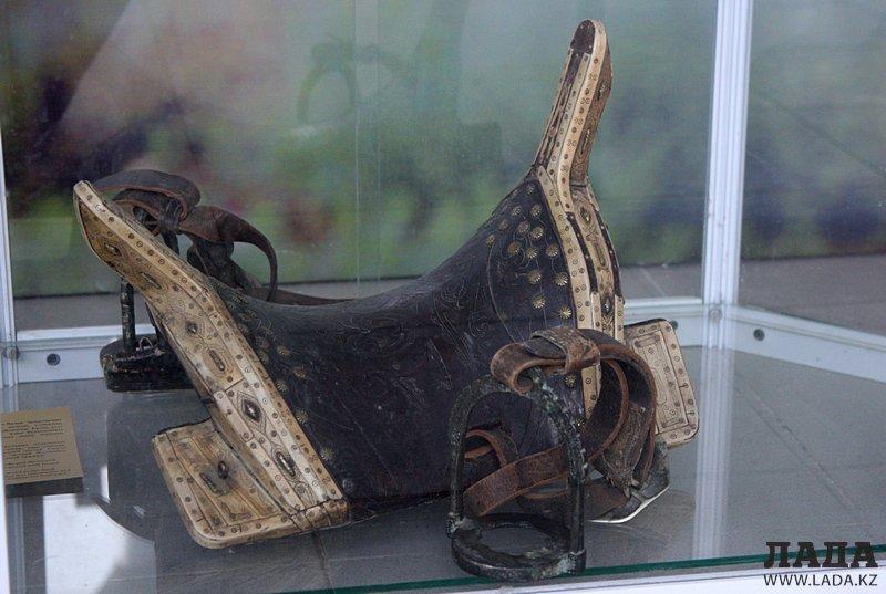 Экспозиция Атырауского музея. История в фотографиях