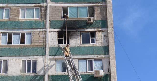 Семь героических поступков пожарных Актау
