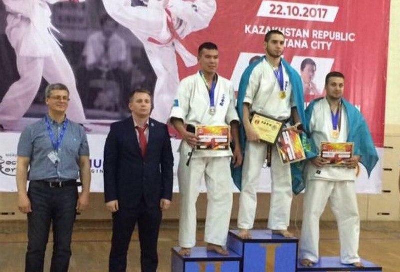Спортсмены из Актау завоевали 16 золотых медалей на первенстве Евразии по ашихара-каратэ