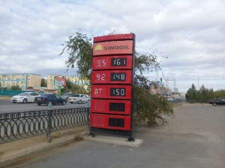 Обзор ситуации на автозаправках Актау 3 октября