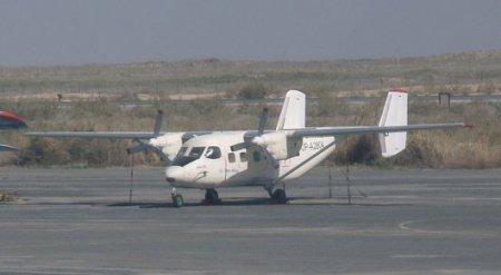 Самолет Ан-28 найден горящим под Алматы