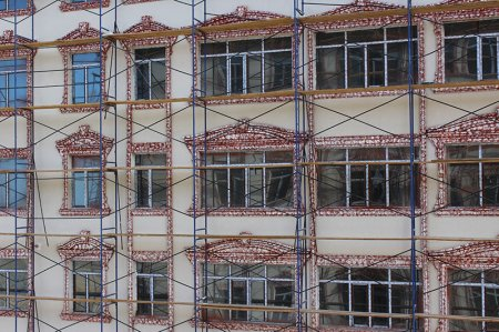 Строительство суперсовременного жилого комплекса «Инара» близится к финалу