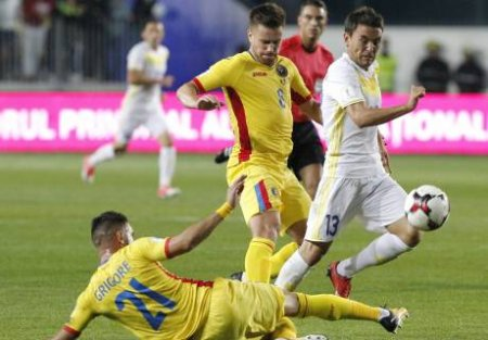 Сборная Казахстана по футболу потерпела очередной разгром