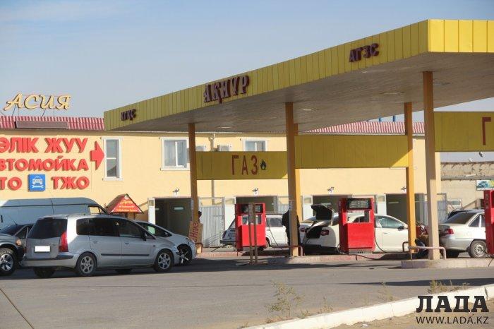 Обзор ситуации на автозаправках Актау 6 октября