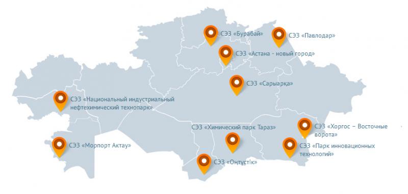 До конца года в СЭЗ «Морпорт Актау» планируют запустить три проекта