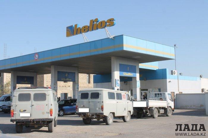 На заправках Актау цена на бензин марки АИ-92 поднялась до 152 тенге